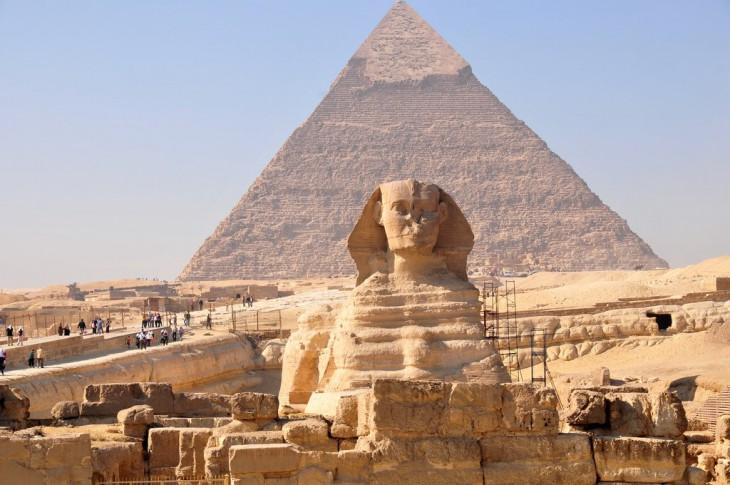 Факты о пирамидах Египта