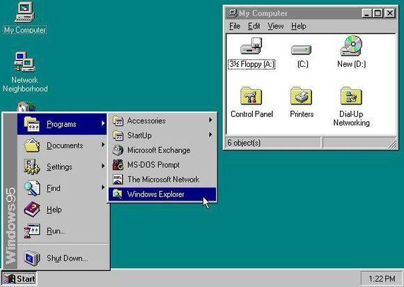Краткая история операционных систем