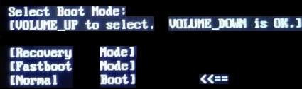 Как выйти из режима Fastboot Mode на Android